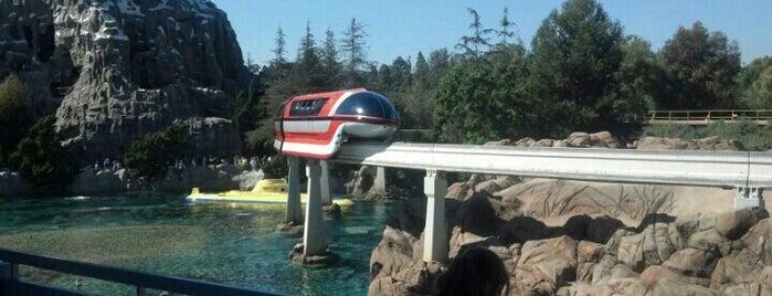 Disneyland Monorail is one of Disneyland Fun!!!.
