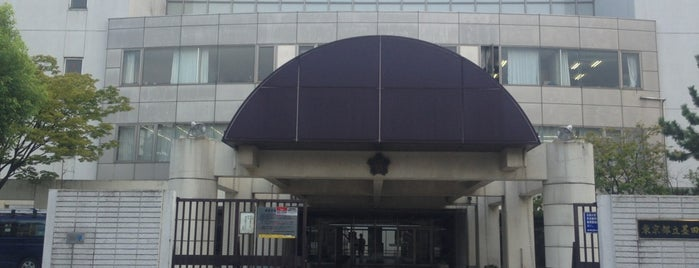 東京都立墨田川高等学校 is one of 都立学校.