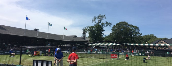Campbell's Hall of Fame Tennis Championships is one of Landmarks.