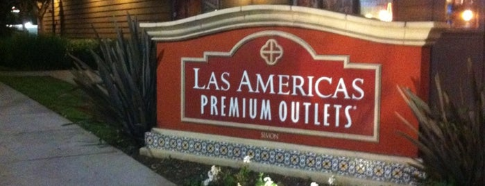 Las Americas Premium Outlets is one of My Favorites in SD.