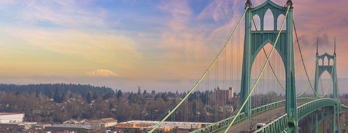 St. Johns Bridge is one of Lufthansa Magazin.