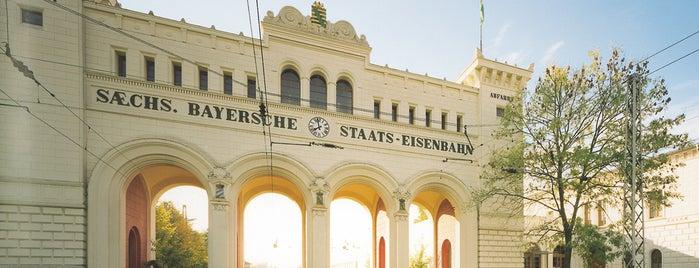 Bayerischer Bahnhof is one of Lufthansa Magazin.