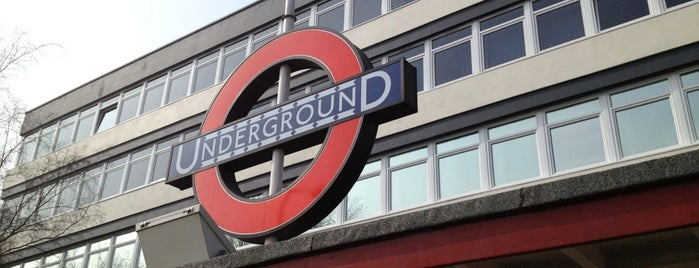Cockfosters London Underground Station is one of Tube Challenge.