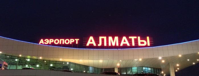 Almaty International Airport (ALA) is one of 에어.