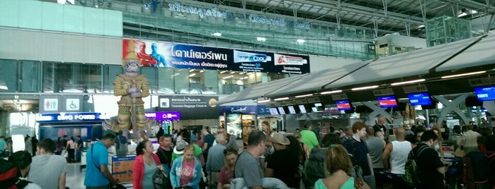"""Check-In Row """"N"""" is one of TH-Airport-BKK-1."""