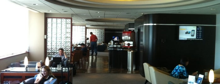 Delta Sky Club is one of B.