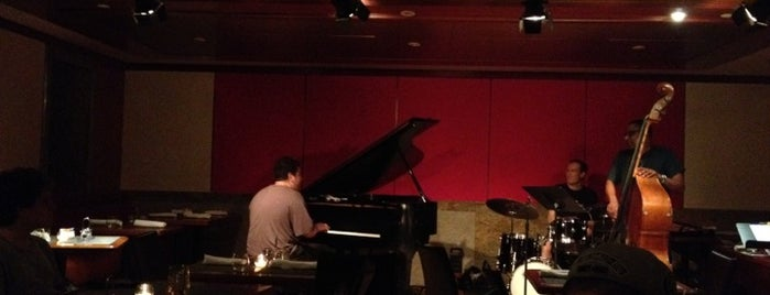 "The Jazz Room at The Kitano is one of ""Be Robin Hood #121212 Concert"" @ New York!."