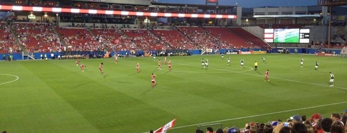 Toyota Stadium is one of การแข่งขันฟุตบอลนัดสำคัญ.