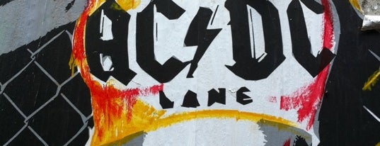 ACDC Lane is one of Quintessential Melbourne.