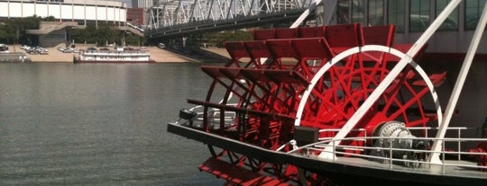 BB Riverboats: Belle of Cincinnati is one of Cincinnati for Out-of-Towners #VisitUS.