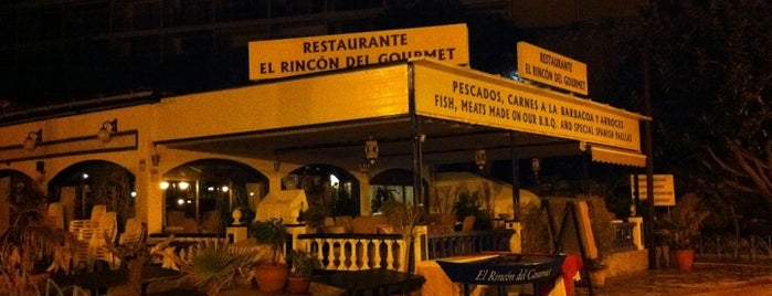 Rincon del Gourmet is one of Cheque gourmet Malaga.