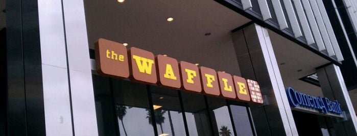 The Waffle is one of Brunch in LA.