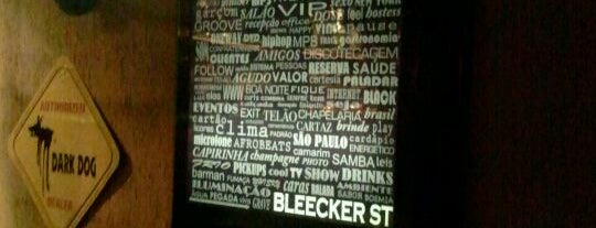 Bleecker St. is one of Sao Paulo list.