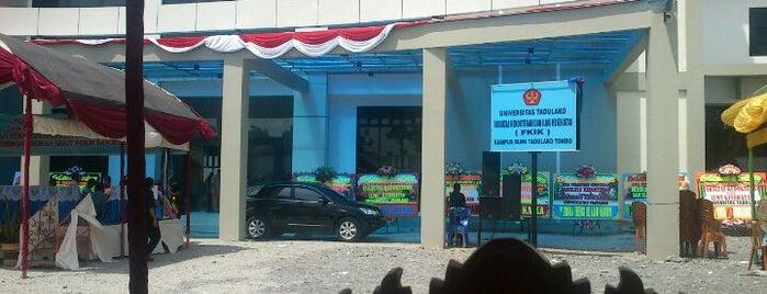 Fakultas Kedokteran dan Ilmu Kesehatan (FKIK) Universitas Tadulako is one of Universitas Tadulako Palu.