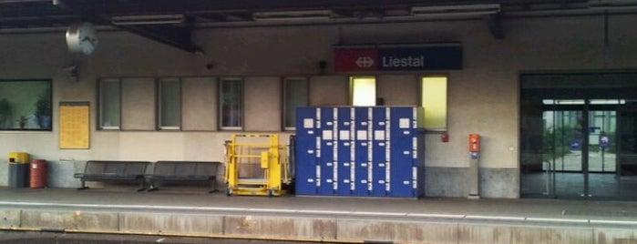Bahnhof Liestal is one of Bahnhöfe Top 200 Schweiz.