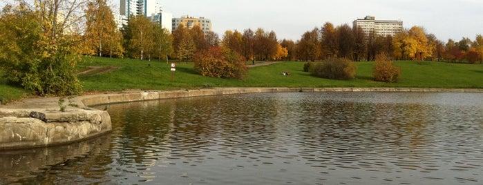 Парк «Олимпийская Деревня 80» is one of Лучшие парки Мск.