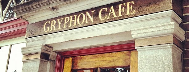 Gryphon Café is one of Places to go on the main line.