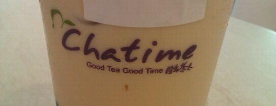 Chatime (日出茶太) is one of Favorite Food.