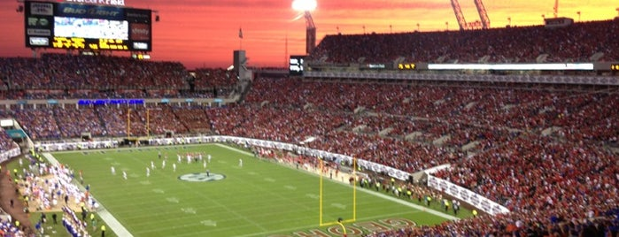 EverBank Field is one of 2 do list # 2.