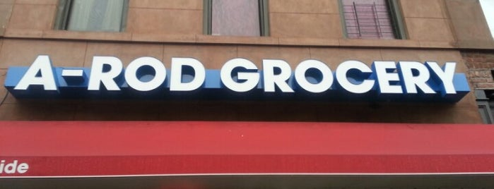 A-Rod Grocery is one of Duncan.
