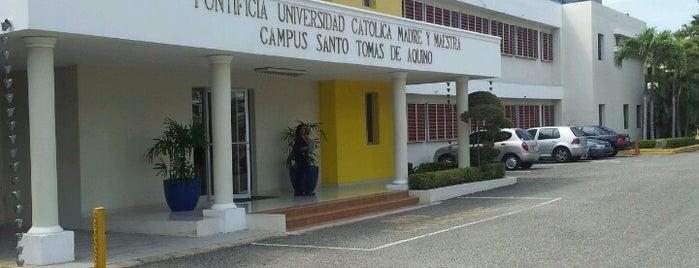 Pontificia Universidad Católica Madre y Maestra (PUCMM) is one of Regular.