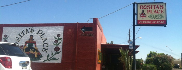 Rosita's Place is one of PHX Latin Food in The Valley.