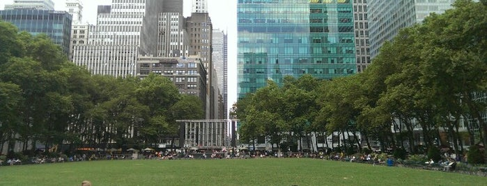 Bryant Park is one of Best Parks In New York City.