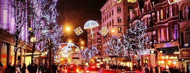 Oxford Street is one of Places to Visit in London.