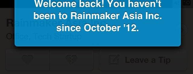 Rainmaker Asia Inc. is one of The (Metro) Manila BPO List.