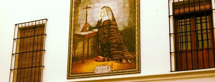 Convento de Santa Isabel is one of Intra - Conventus (Conventos Intramuros Sevilla).
