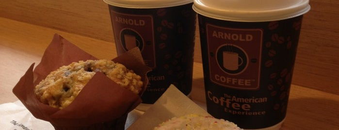 Arnold Coffee is one of Free Wi-Fi.