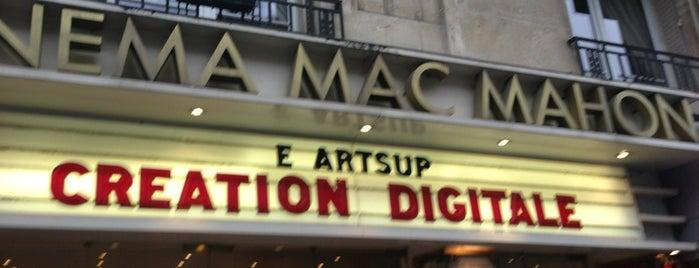 Cinéma Mac-Mahon is one of Paris, FR.