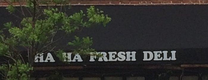 Ha Ha Fresh is one of Pet Friendly in W. Chelsea.
