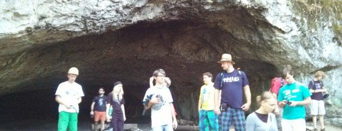 Jeskyně Pekárna is one of Doly, lomy, jeskyně (CZ).