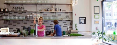 Puree Artisan Juice Bar is one of Dc.
