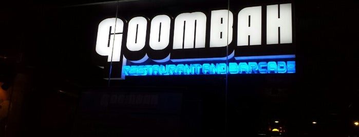 Goombah Restaurant and Barcade is one of Video Game & Gamer Bars.