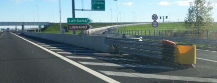A4 - Latisana is one of A4 Autostrada Torino - Trieste.