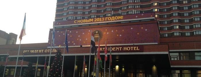 Президент Отель is one of Места.