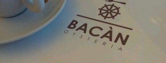 Bacàn is one of 20 favorite restaurants.