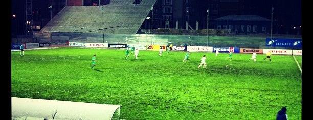 Стадион «Труд» is one of Stadiums.