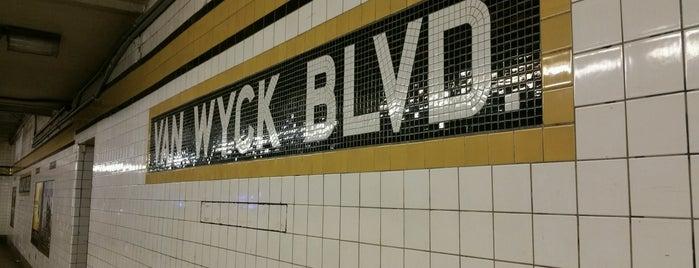 MTA Subway - Briarwood/Van Wyck Blvd (E/F) is one of MTA Subway - F Line.