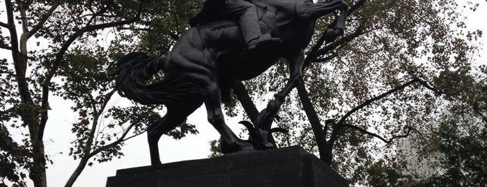 José Julian Martí Monument by Anna Vaughn Hyatt Huntington is one of 2 do list # 2.