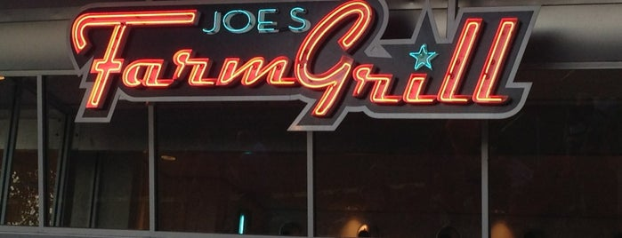 Joe's Farm Grill is one of DINERS DRIVE-IN & DIVES 3.