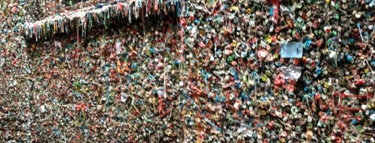 Gum Wall is one of #2daysinSeattle.