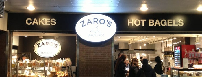 Zaro's Bakery is one of NY Bagels to Try.