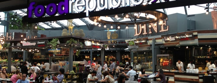 Food Republic (ฟู้ด รีพับลิค) is one of Must-visit Food in Siam Square and nearby.