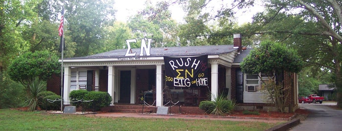 Sigma Nu Fraternity House is one of Sigma Nu Chapter Houses.