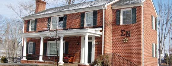 Sigma Nu House is one of Sigma Nu Chapter Houses.