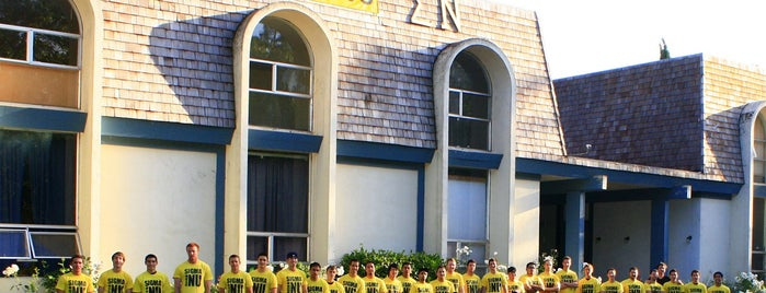 Sigma Nu (ΣN) is one of Sigma Nu Chapter Houses.