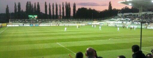 Rákóczi FC is one of Stadionok.